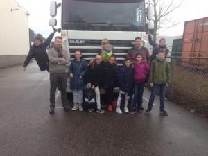 Kids at Lightning Stage bij Passies Verhuizers.